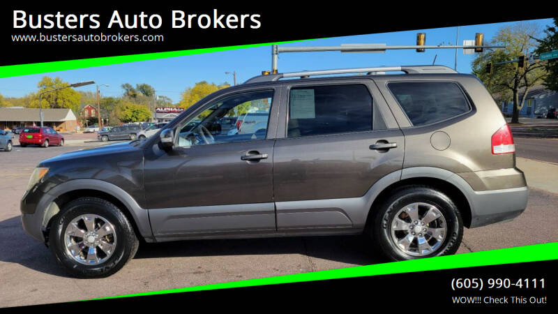 2009 Kia Borrego for sale at Busters Auto Brokers in Mitchell SD