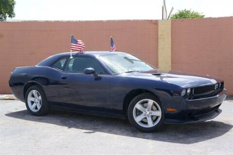 2013 Dodge Challenger for sale at Concept Auto Inc in Miami FL