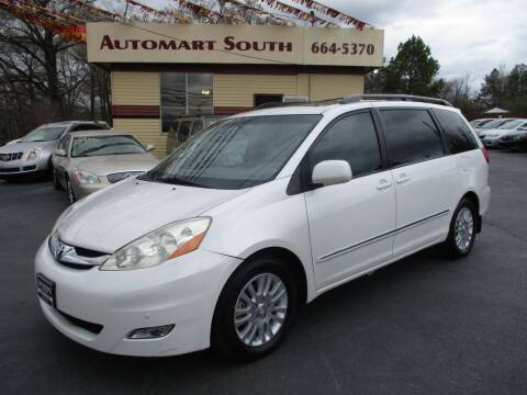2008 Toyota Sienna for sale at Automart South in Alabaster AL