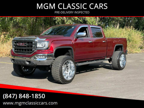 2017 GMC Sierra 1500 for sale at MGM CLASSIC CARS-New Arrivals in Addison IL