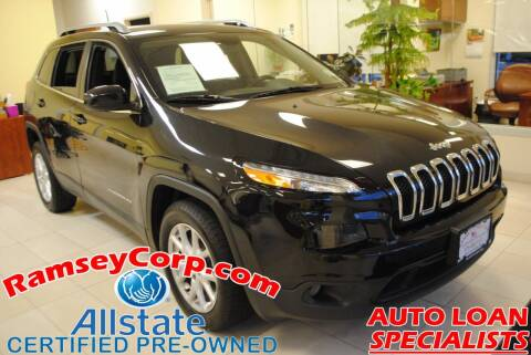 2016 Jeep Cherokee for sale at Ramsey Corp. in West Milford NJ