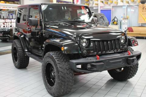 2009 Jeep Wrangler for sale at Windy City Motors in Chicago IL