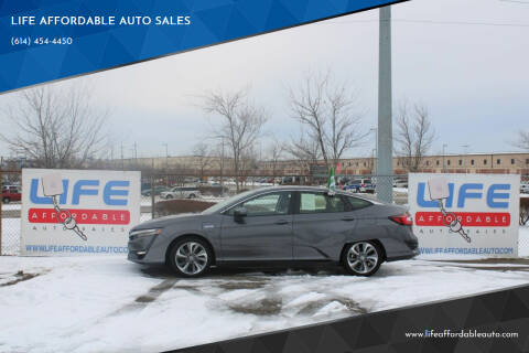 2018 Honda Clarity Plug-In Hybrid for sale at LIFE AFFORDABLE AUTO SALES in Columbus OH