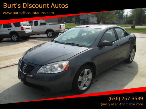 2008 Pontiac G6 for sale at Burt's Discount Autos in Pacific MO