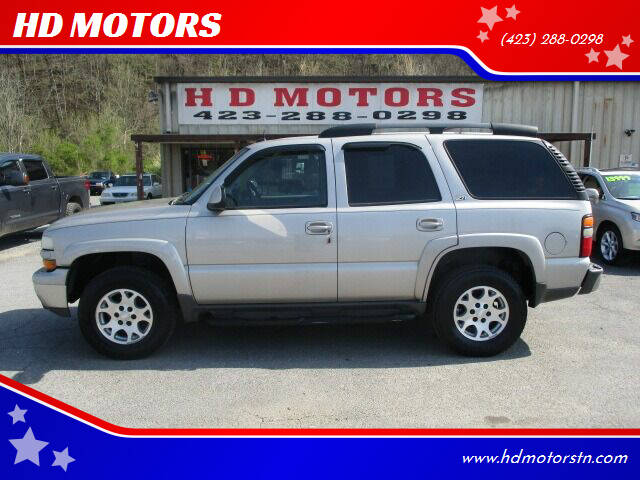 2004 Chevrolet Tahoe for sale at HD MOTORS in Kingsport TN
