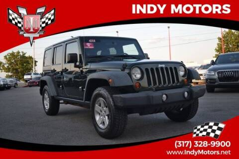2011 Jeep Wrangler Unlimited for sale at Indy Motors Inc in Indianapolis IN
