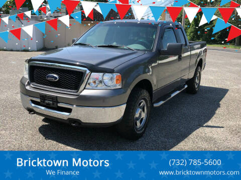 2007 Ford F-150 for sale at Bricktown Motors in Brick NJ