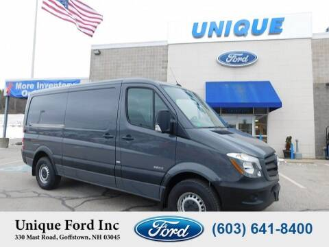 2016 Mercedes-Benz Sprinter Cargo for sale at Unique Motors of Chicopee - Unique Ford in Goffstown NH