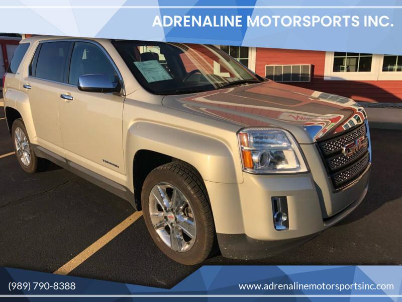 2015 GMC Terrain for sale at Adrenaline Motorsports Inc. in Saginaw MI