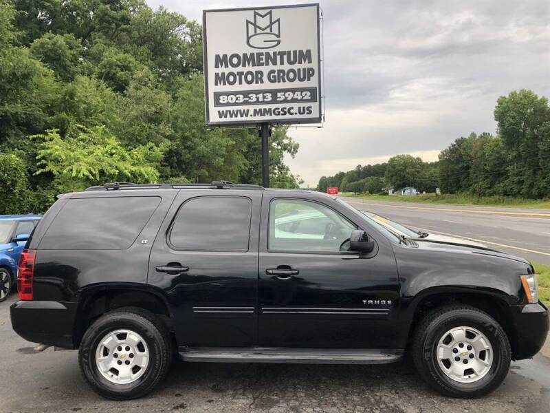2010 Chevrolet Tahoe for sale at Momentum Motor Group in Lancaster SC
