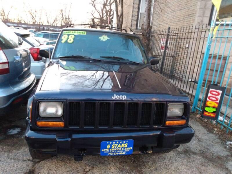 1998 Jeep Cherokee for sale at 5 Stars Auto Service and Sales in Chicago IL