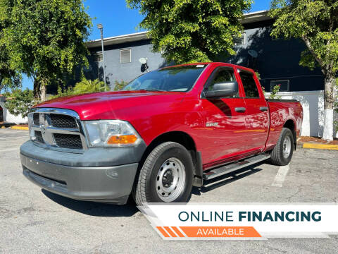 2010 Dodge Ram Pickup 1500 for sale at Global Auto Sales USA in Miami FL