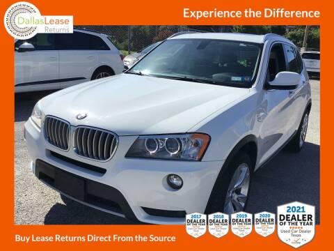 2014 BMW X3 for sale at Dallas Auto Finance in Dallas TX