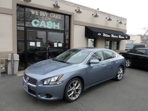 2011 Nissan Maxima for sale at Wilson-Maturo Motors in New Haven Ct CT
