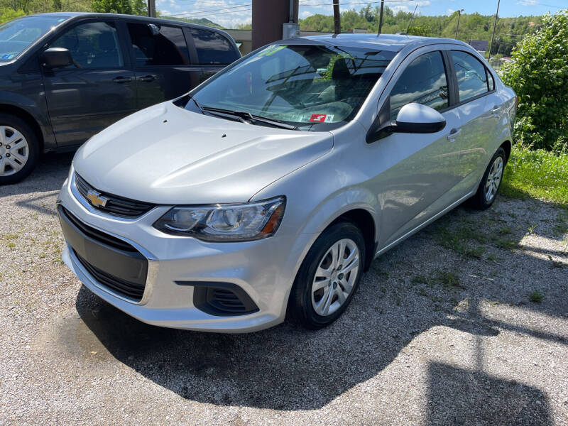 2017 Chevrolet Sonic for sale at PIONEER USED AUTOS & RV SALES in Lavalette WV