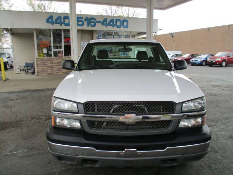 2005 Chevrolet Silverado 1500 for sale at Elite Auto Sales in Willowick OH
