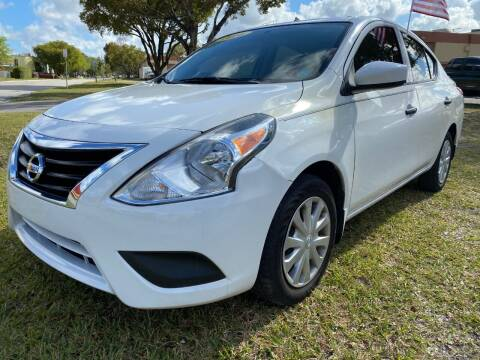 2016 Nissan Versa for sale at Nationwide Auto Finance in Miami FL