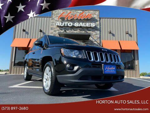 2016 Jeep Compass for sale at HORTON AUTO SALES, LLC in Linn MO