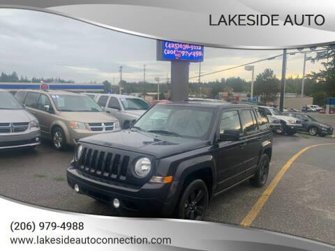 2015 Jeep Patriot for sale at Lakeside Auto in Lynnwood WA