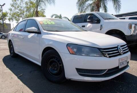2012 Volkswagen Passat for sale at GQC AUTO SALES in San Bernardino CA