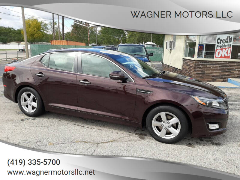 2014 Kia Optima LX 4dr Sedan - Wauseon OH