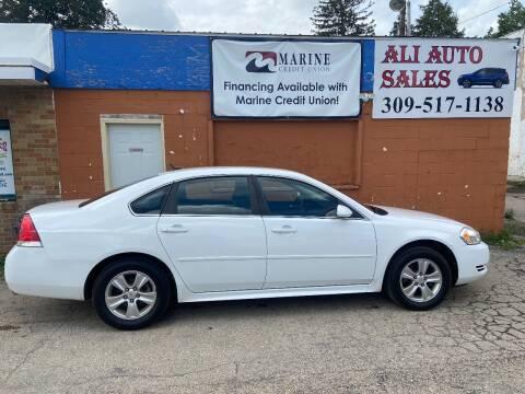 2013 Chevrolet Impala for sale at Ali Auto Sales in Moline IL