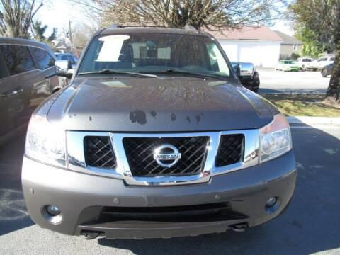 2012 Nissan Armada for sale at Maluda Auto Sales in Valdosta GA