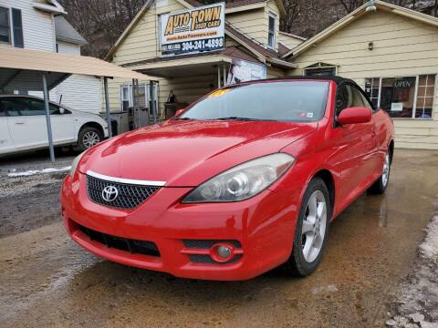 2008 Toyota Camry Solara for sale at Auto Town Used Cars in Morgantown WV