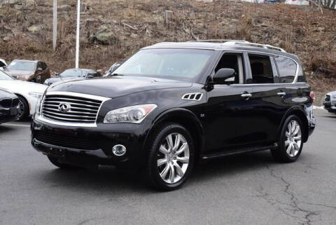 2014 Infiniti QX80 for sale at Automall Collection in Peabody MA