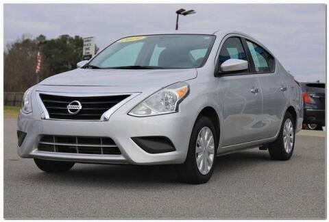 2019 Nissan Versa for sale at WHITE MOTORS INC in Roanoke Rapids NC