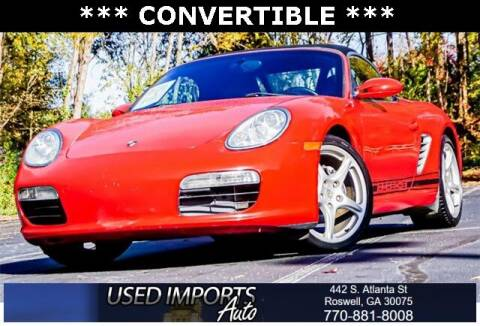 2006 Porsche Boxster for sale at Used Imports Auto in Roswell GA