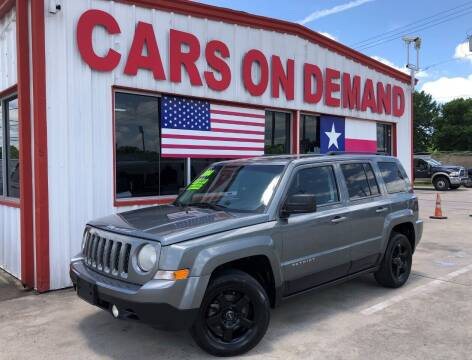 2014 Jeep Patriot for sale at Cars On Demand 2 in Pasadena TX