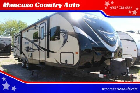 2016 Keystone PREMIER BULLET 31BHPR for sale at Mancuso Country Auto in Batavia NY