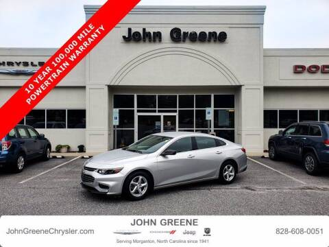 2017 Chevrolet Malibu for sale at John Greene Chrysler Dodge Jeep Ram in Morganton NC