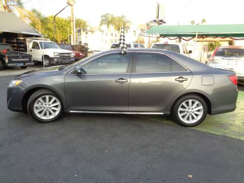 2014 Toyota Camry Hybrid for sale at Pauls Auto in Whittier CA