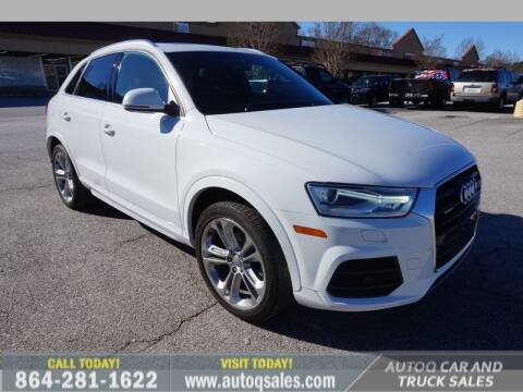 2016 Audi Q3 for sale at Auto Q Car and Truck Sales in Mauldin SC