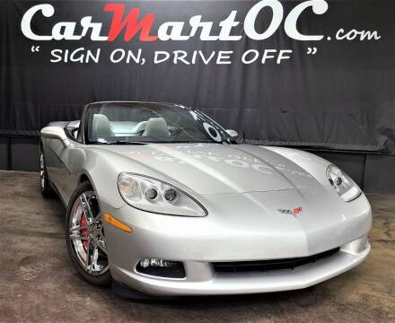 2006 Chevrolet Corvette for sale at CarMart OC in Costa Mesa, Orange County CA