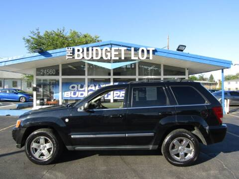 2006 Jeep Grand Cherokee for sale at THE BUDGET LOT in Detroit MI