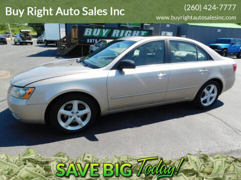 2006 Hyundai Sonata for sale at Buy Right Auto Sales Inc in Fort Wayne IN