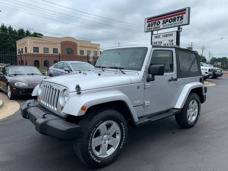 2007 Jeep Wrangler for sale at Auto Sports in Hickory NC