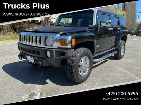 2006 HUMMER H3 for sale at Trucks Plus in Seattle WA