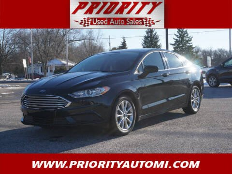 2017 Ford Fusion for sale at Priority Auto Sales in Muskegon MI
