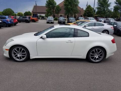 2007 Infiniti G35 for sale at ROSSTEN AUTO SALES in Grand Forks ND