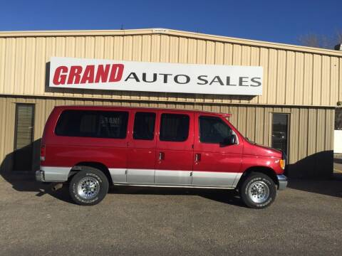 1998 Ford E-350 for sale at GRAND AUTO SALES in Grand Island NE