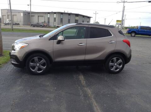 2014 Buick Encore for sale at Kevin's Motor Sales in Montpelier OH