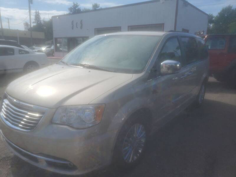 2013 Chrysler Town and Country for sale at J & J Used Cars inc in Wayne MI