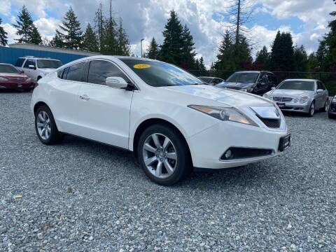 2010 Acura ZDX for sale at LKL Motors in Puyallup WA