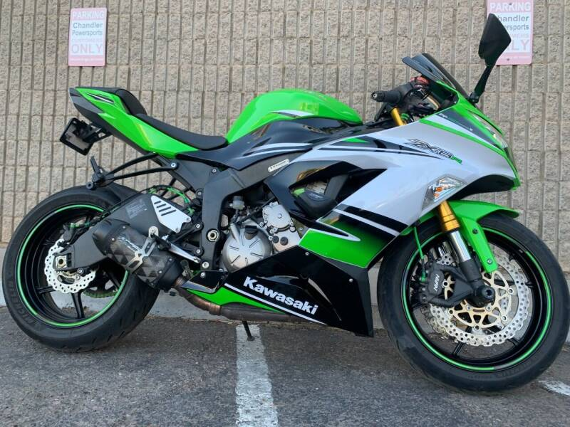 2015 Kawasaki Ninja ZX-6R 636 Anniversary Ed for sale at Chandler Powersports in Chandler AZ
