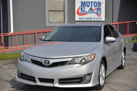 2014 Toyota Camry for sale at Motor Car Concepts II - Colonial Location in Orlando FL