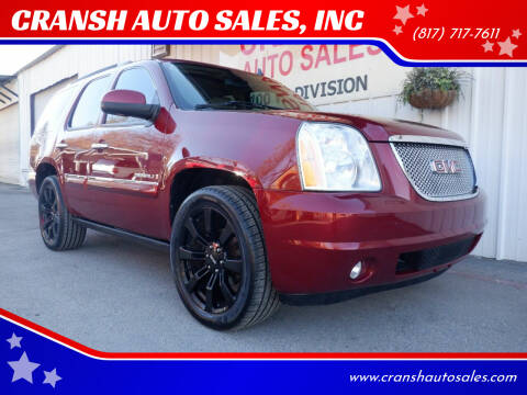 2008 GMC Yukon for sale at CRANSH AUTO SALES, INC in Arlington TX